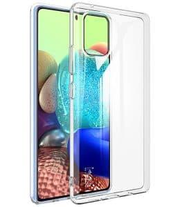 Samsung Galaxy A51 5G IMAK Silikoni Suojakuori