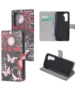 Huawei P40 lite 5G Kuviollinen Wallet Case