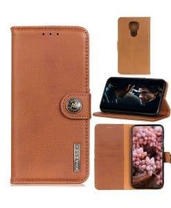 Motorola Moto G9 Play KHAZNEH Wallet Leather Case