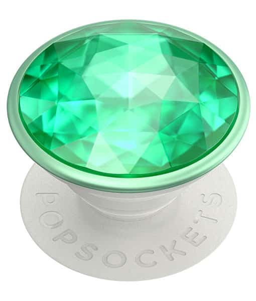 PopSockets PopGrip Disco Crystal Mint