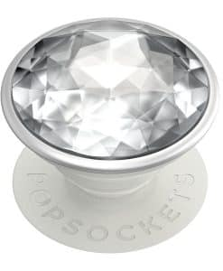 PopSockets PopGrip Disco Crystal Silver