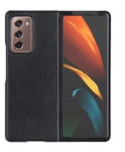 Samsung Galaxy Z Fold2 Genuine Leather Suojakuori