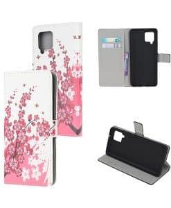 Samsung Galaxy A42 Kuviollinen Wallet Case