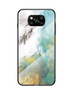 Xiaomi Poco X3 NFC Marmori Suojakuori