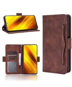 Xiaomi Poco X3 NFC Wallet Leather Case