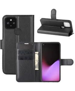 Google Pixel 4a 5G Wallet Leather Case