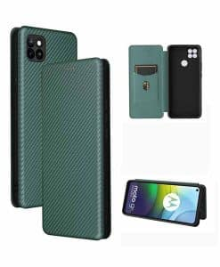 Motorola Moto G9 Power Auto-absorbed Leather Case