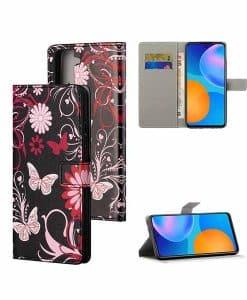Samsung Galaxy S21 5G Kuviollinen Wallet Case