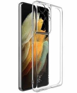 Samsung Galaxy S21 Ultra 5G IMAK Silikoni Suojakuori