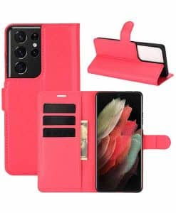 Samsung Galaxy S21 Ultra 5G Wallet Leather Case
