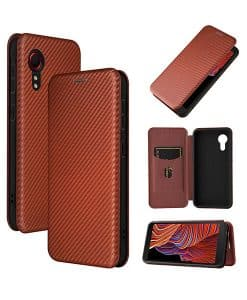 Samsung Galaxy Xcover 5 Auto-absorbed Leather Case
