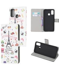 Motorola Moto G50 Kuviollinen Wallet Case