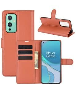 OnePlus 9 Wallet Leather Case