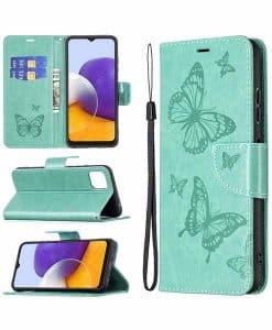 Samsung Galaxy A22 5G Imprint Perhos Suojakotelo