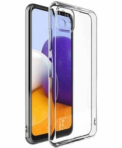 Samsung Galaxy A22 5G IMAK Silikoni Suojakuori