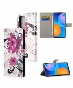 Xiaomi Redmi Note 10 5G Kuviollinen Wallet Case