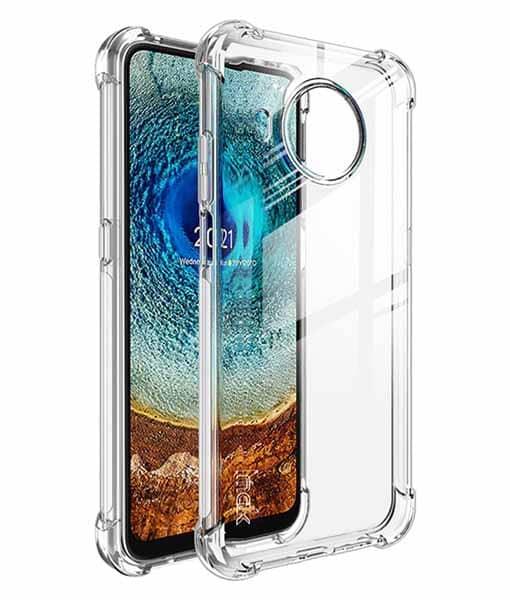 Nokia X20 IMAK Silikonisuoja + Suojakalvo