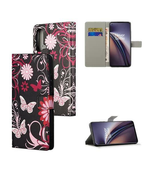 OnePlus Nord CE Kuviollinen Wallet Case