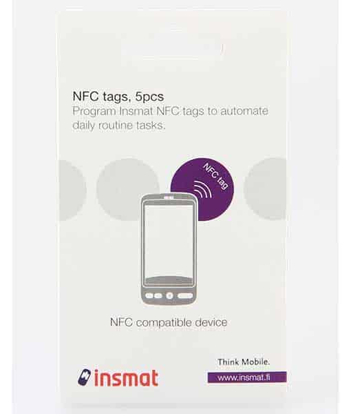 Insmat NFC TAGS tarrat 5kpl
