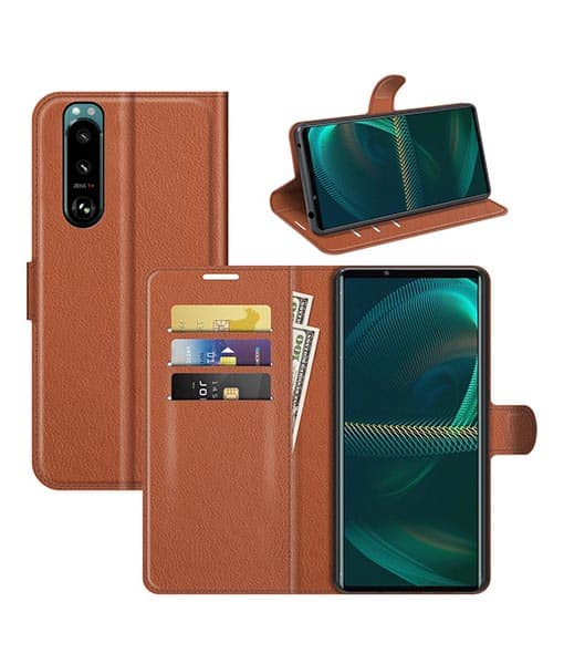 Sony Xperia 5 III 5G Wallet Leather Case